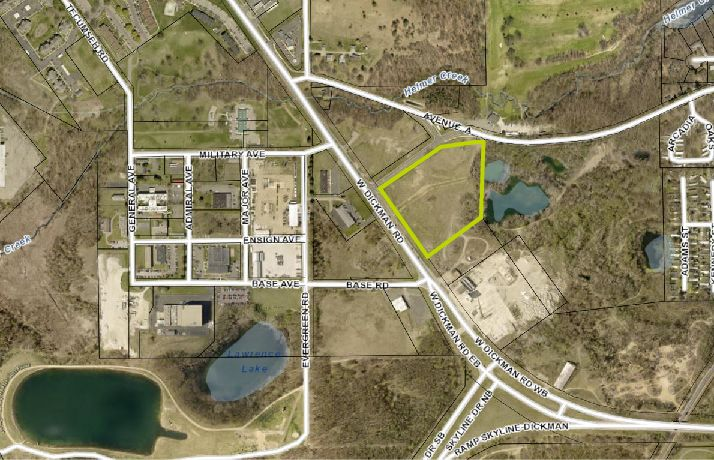 Battle Creek Airport Area - 10 Acres - Land - For Sale